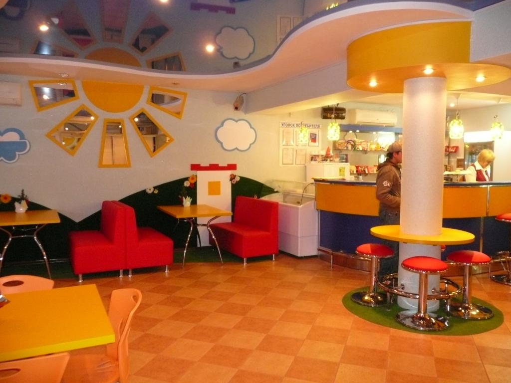 Фото дизайн детских кафе
